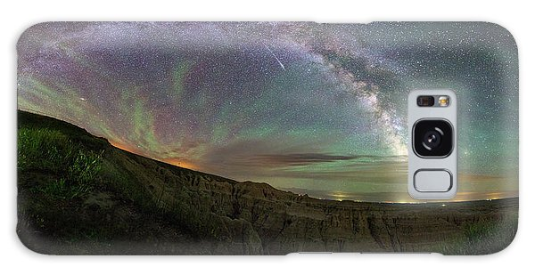 Galaxy Case featuring the photograph Pinnacles  by Aaron J Groen