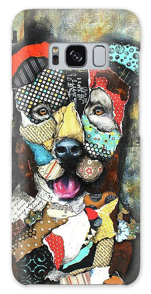Pit Bull Galaxy Case by Patricia Lintner