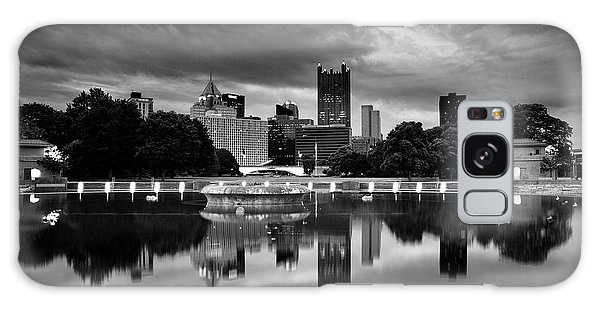 Pittsburgh  Reflections  Galaxy Case by Emmanuel Panagiotakis