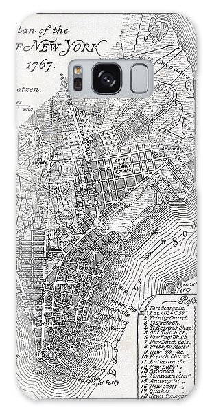 Plan Of The City Of New York Galaxy Case