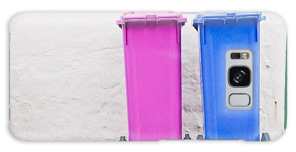 Rubbish Bin Galaxy Case - Plastic Bins by Tom Gowanlock