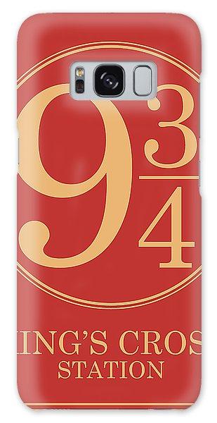 Platform Nine And Three Quarters - Harry Potter Wall Art Galaxy Case