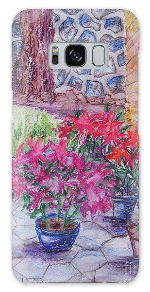 Poinsettias - Gifted Galaxy Case by Judith Espinoza