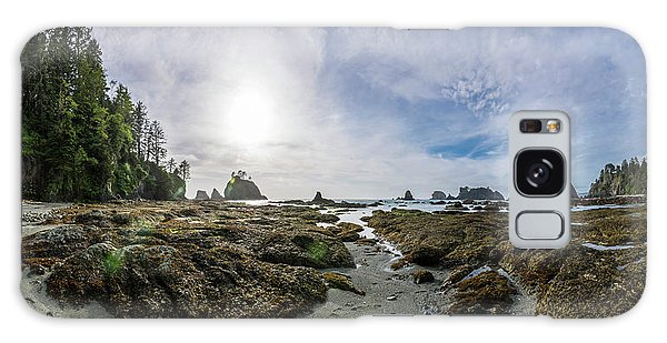 Sea Stacks Galaxy Case - Point Of The Arches 3 by Pelo Blanco Photo