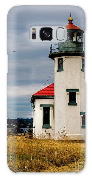 Point Robinson  Lighthouse,vashon Island.wa Galaxy Case