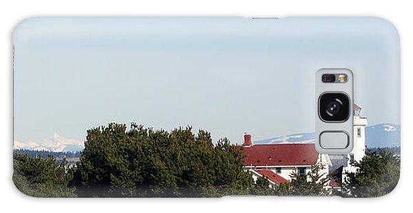 Point Wilson Lighthouse Galaxy Case