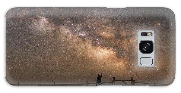 Board Walk Galaxy Case - Look Towards The Sky by Michael Ver Sprill
