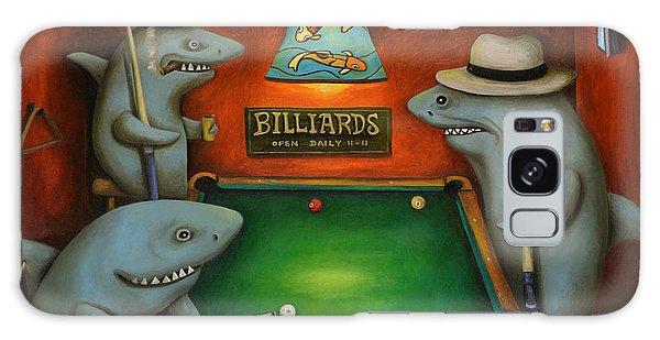 Pool Sharks Galaxy Case