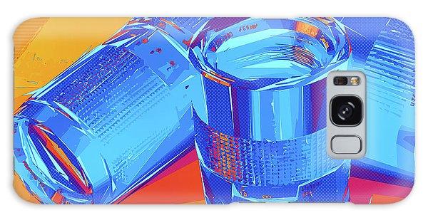 Pop Art Camera Lenses Galaxy Case