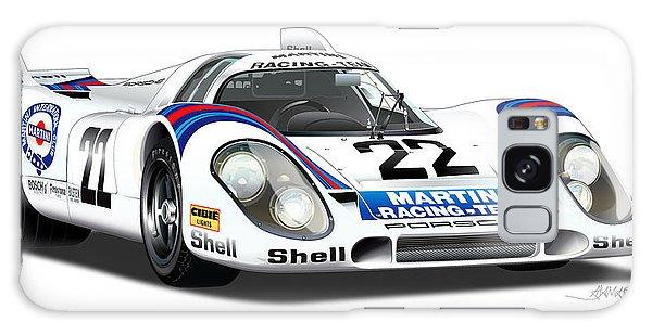 Porsche 917 Illustration Galaxy Case