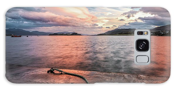 Rights Managed Images Galaxy Case - Port Appin Sunrise by Alex Saunders