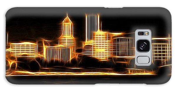 Galaxy Case featuring the photograph Portland Oregon Skyline  by Aaron Berg