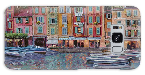 Reflections Galaxy Case - Portofino Al Crepuscolo by Guido Borelli