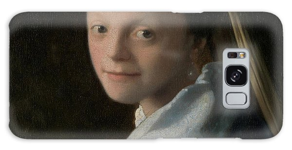 Jan Vermeer Galaxy Case - Portrait Of A Young Woman by Jan Vermeer