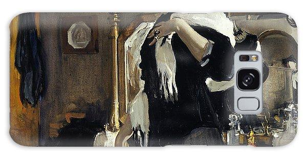 Russian Impressionism Galaxy Case - Portrait Of Henriette Girshman by Valentin Serov