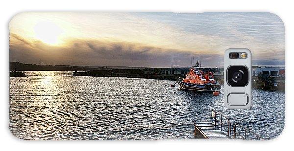 Portrush Rnli Lifeboat Galaxy Case