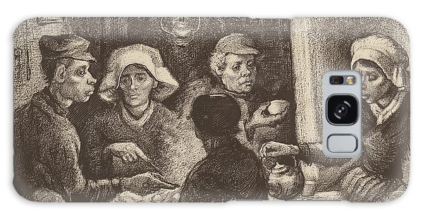 Potato Eaters, 1885 Galaxy Case