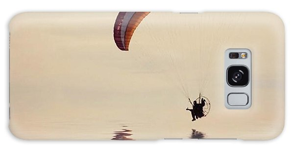 Amazing Galaxy Case - Powered Paraglider by John Edwards
