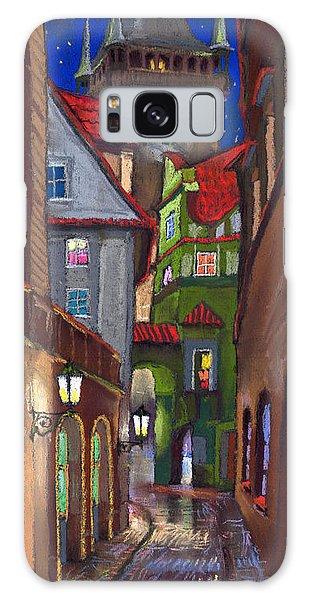 Old Galaxy Case - Prague Old Street  by Yuriy Shevchuk