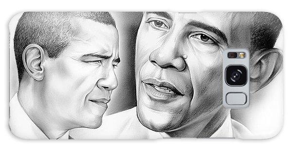 Barack Obama Galaxy Case - President Barack Obama by Greg Joens