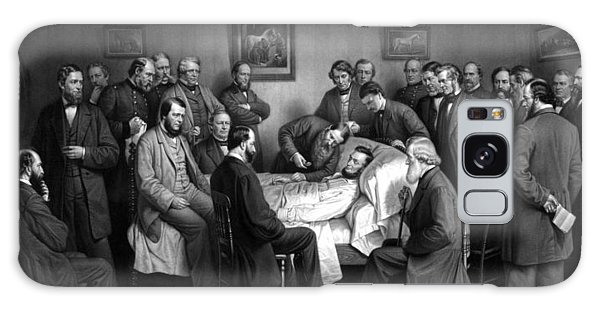 Abraham Lincoln Galaxy Case - President Lincoln's Deathbed by War Is Hell Store