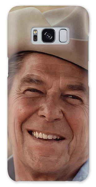 Heroes Galaxy Case - President Ronald Reagan by War Is Hell Store