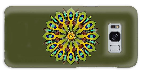 Psychedelic Mandala 004 A Galaxy Case by Larry Capra