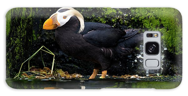 Puffin Galaxy S8 Case - Puffin Reflected by Mike Dawson
