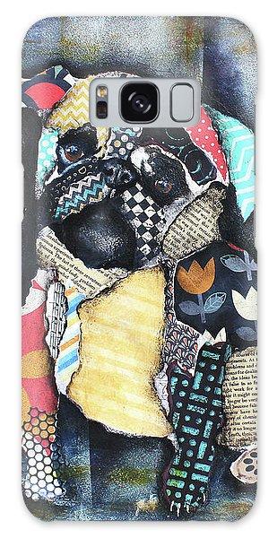 Pug Galaxy Case by Patricia Lintner