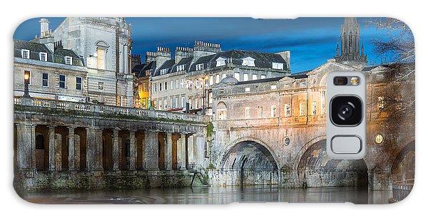 Pulteney Bridge, Bath Galaxy Case by Colin Rayner