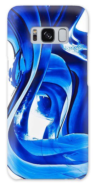 Waves Galaxy Case - Pure Water 66 by Sharon Cummings