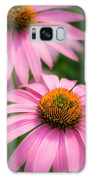Purple Coneflower Galaxy Case by Jim Hughes