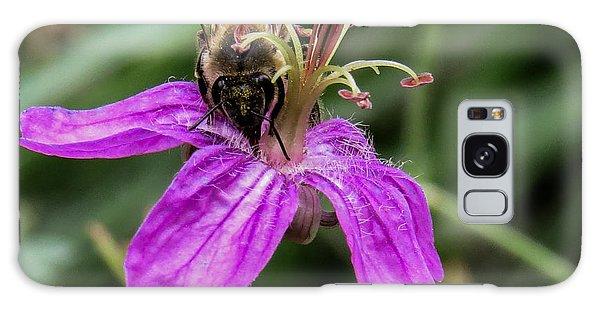 Purple Flower 3 Galaxy Case