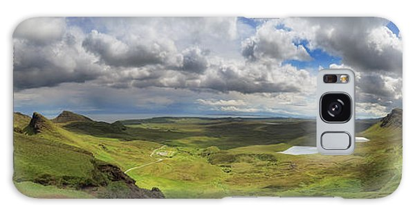 Quiraing And Trotternish - Panorama Galaxy Case