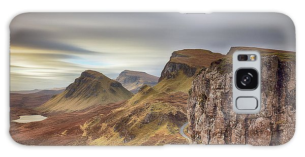 Galaxy Case featuring the photograph Quiraing - Isle Of Skye by Grant Glendinning