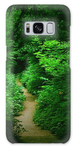 Rain Forest Walk Galaxy Case