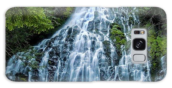 Ramona Falls Cascade Galaxy Case
