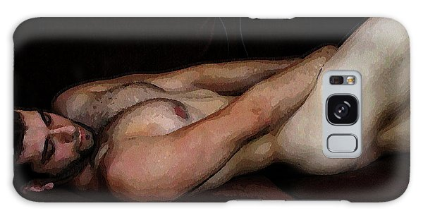 Reclining Nude Galaxy Case