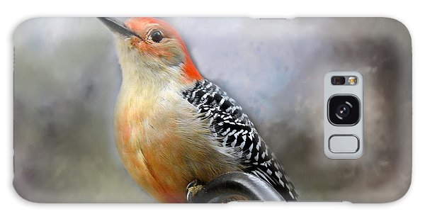 Red-bellied Woodpecker Galaxy Case by Brenda Bostic