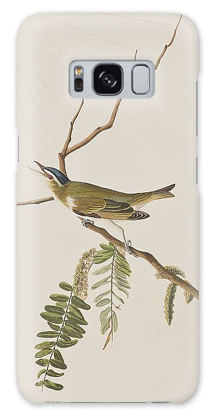 Red Eyed Vireo Galaxy Case by John James Audubon