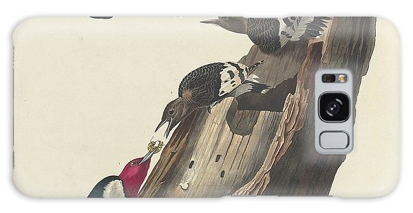 Red-headed Woodpecker Galaxy Case by Dreyer Wildlife Print Collections