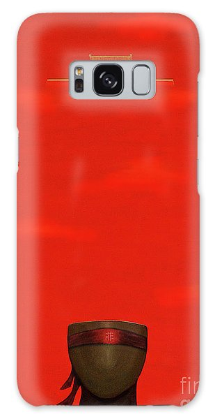 Red Impression Galaxy Case
