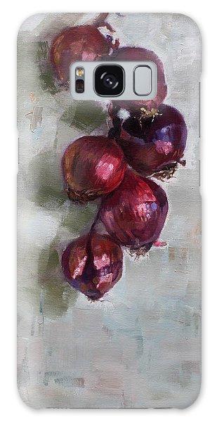 Onion Galaxy S8 Case - Red Onions by Ylli Haruni