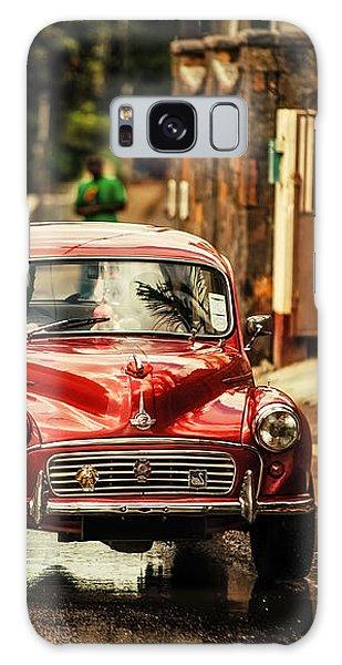 Red Retromobile. Morris Minor Galaxy Case