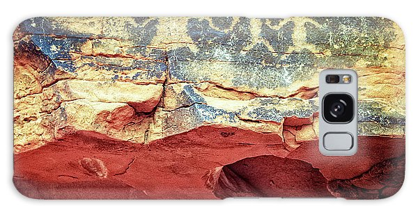 Red Rock Canyon Petroglyphs Galaxy Case