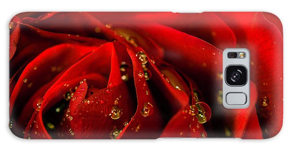 Red Rose 2 Galaxy Case