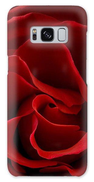 Red Rose Vi Galaxy Case