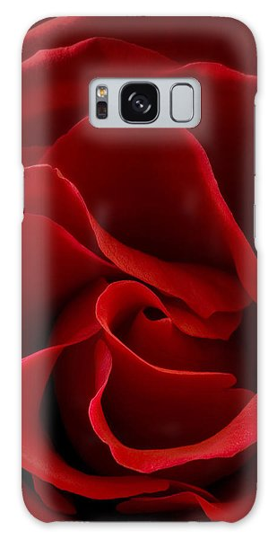 Red Rose Vi Galaxy Case by George Robinson