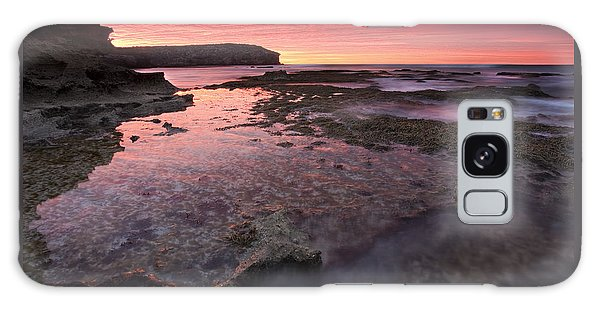 Kangaroo Galaxy Case - Red Sky At Morning by Mike  Dawson