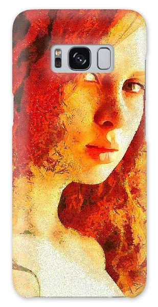 Redhead Galaxy Case by Gun Legler